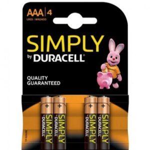 Duracell Batterijen AA 4-pack