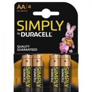 Duracell Batterijen AAA 4-pack