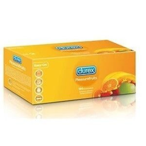 Durex Condooms Pleasurefruits Voordeelverpakking 144st.