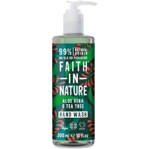 Faith in Nature Handzeep Aloe Vera & Tea Tree | Drogist Solo