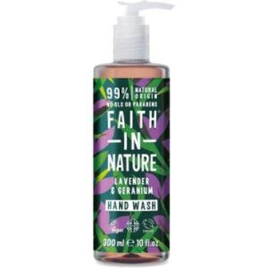 Faith in Nature Handzeep Lavender & Geranium | Drogist Solo