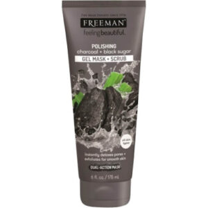 Freeman Facial Polishing Mask Charcoal and Black Sugar | Drogist Solo