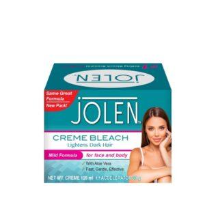 Jolen Ontharingscreme Bleach Mild Formula plus Aloe Vera 125 ml