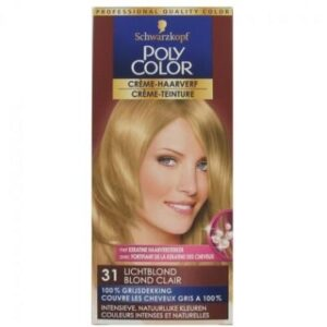 Poly Color Haarverf 31 Lichtblond