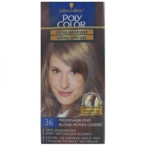 Poly Color Haarverf 36 Middenasblond