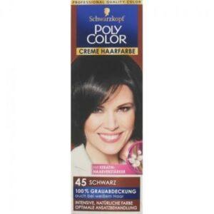 Poly Color Haarverf 45 Zwart