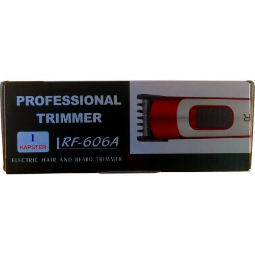 Professional Electriche Haar En Baard Trimmer - RF606A 2