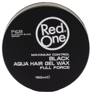 RedOne Aqua Hair Gel Wax Black