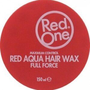 RedOne Aqua Hair Wax Red