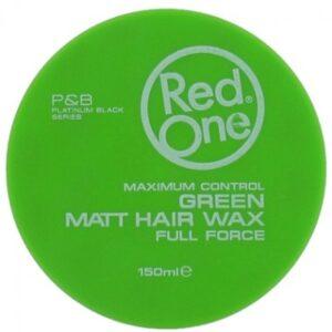 RedOne Haarwax Matt Hair Wax Groen
