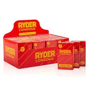 Ryder Condooms 24x3 Stuks