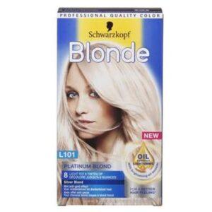 Schwarzkopf Blonde Platinum Lightener L101 Zilverblond