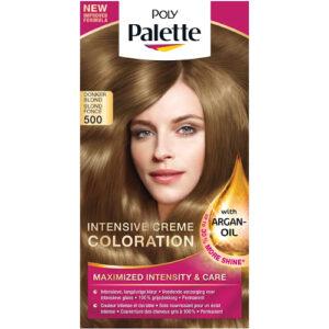 Schwarzkopf Poly Palette Haarverf 500 Donkerblond | Drogist Solo
