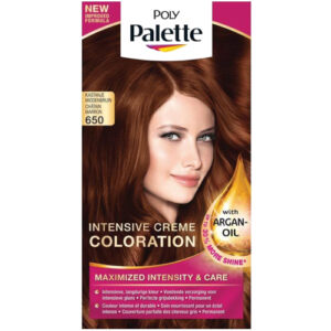 Schwarzkopf Poly Palette Haarverf 650 Kastanje Middenbruin | Drogist Solo