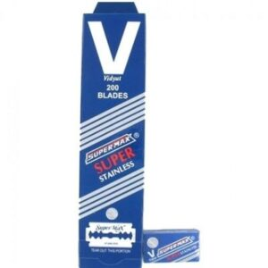 Supermax Stainless Scheermesjes 20 x 10 stuks