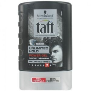 Taft Power Gel Unlimited Hold 7 (Tottle)