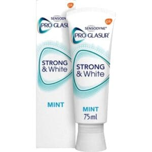 Sensodyne Proglasur Tandpasta Strong & White