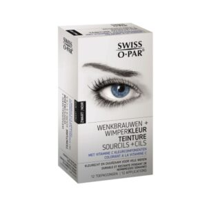 Swiss-o-Par Eyebrow and Eyelash Kit Black